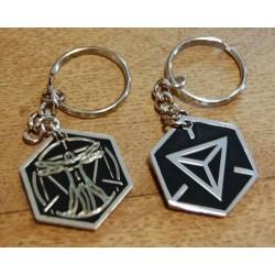 Ingress Founders Keychain