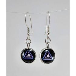 Ingress Link Amp Earrings