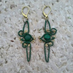 Ingress Enlightened Earrings