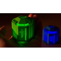 Enlightened and Resistance Capsule with LED light