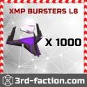 XMP Bursters L8 x 1000