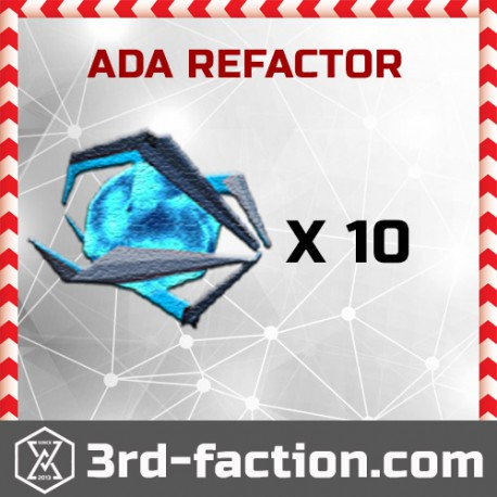 Ingress Ada Refactor x10