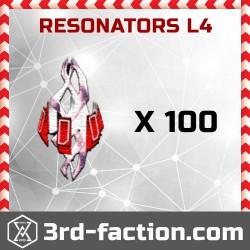 Ingress Resonators L4 x 100