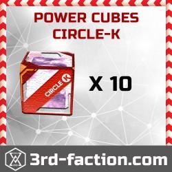 Ingress Circle-K Power Cube x10