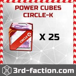 Ingress Circle-K Power Cube x25