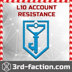 Ingress RES Acc L10 (with founder badge)
