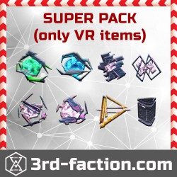 Ingress Very Rare SUPER Mods Pack