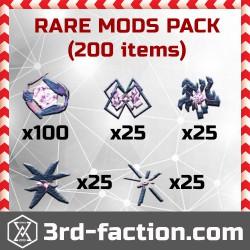 Ingress Rare Mods Pack