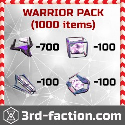Ingress Warrior Pack L8 x1000