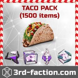 Ingress Tacos Pack L8 x1500