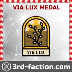 Ingress Via Lux Badge (Medal)
