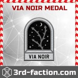 Ingress Via Noir Badge (Medal)