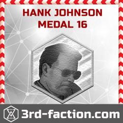 Ingress Hank Johnson Badge