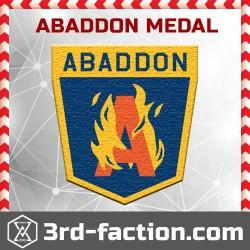 Ingress Abaddon Badge (Medal)