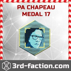 Ingress P.A Chapeau 2017 Badge