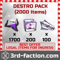 Ingress Destroyer Pack L8