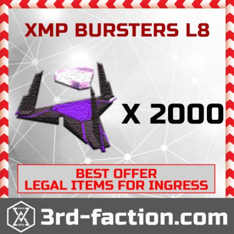 Ingress XMP Bursters L8 x 2000