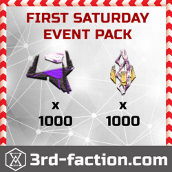 First Saturday Event Pack