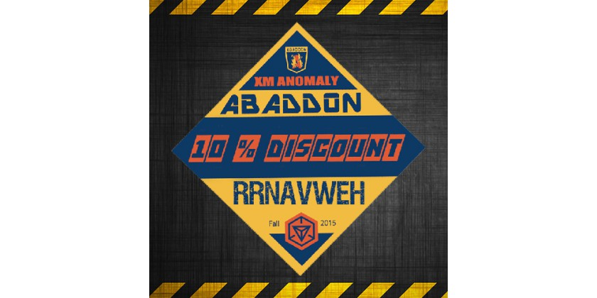 10% discount for XM Anomaly Abaddon